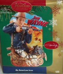 John Wayne, Three Different Quotes From Stagecoach Carlton Sound Ornament