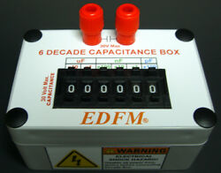 Capacitance Decade Substitution Box With 2 Banana Plugs