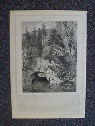 Sinking Springs Pa.-1870s Engravings-inlet And Outlet- Aldine Magazine