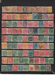 Canada - Lot Of Early Used Stamps Cand1