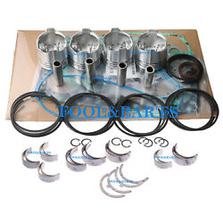 Gasket Set+piston+ring+bearings+washer For Isuzu 4jb1 Eagle Tugs Tow Tractor