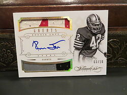 Panini Flawless Gold Autograph Jersey Greats 49ers Auto Ronnie Lott 03/10 2014