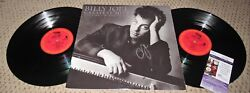 Billy Joel Signed Album Lp Jsa Autograph Greatest Hits Vinyl Record Piano Man
