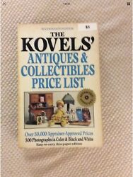 The Kovelsand039 Antiques And Collectibles Price List 1984 First Edition Very Good