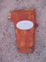 Farmall 340 Rc Tractor Original Ih Front R Radiator Side Cover Panel And Emblem