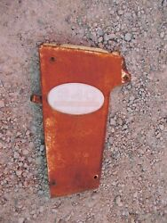 Farmall 340 Rc Tractor Original Ih Front L Radiator Side Cover Panel And Emblem