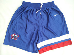 Vintage Rare Made In Usa Depaul Blue Demons Authentic Basketball Shorts Size L