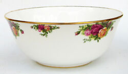 Royal Albert Bone China Old Country Roses Porcelain 9 Centerpiece Serving Bowl