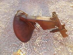 1939 Farmall Ih M Tractor Correct Seat Assembly Frame And Special Nut Rare