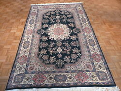 6 X 9and0399 Hand Knotted Oriental Rug Fine Tabr3z Design G2046
