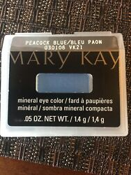 Mary Kay Mineral Eye Color - 2 single shades: Peacock Blue   Almond