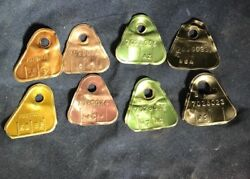 Pair Of Corvair Carburetor Id Tags All Years 1960-1969. Free Shipping