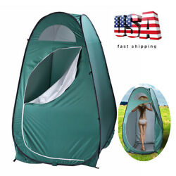 US Portable Outdoor Dressing Fitting Room Pop-up Toilet Privacy Shelter Tent
