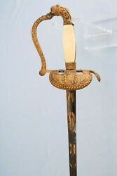Early 19th Century French Epee Court Sword Napoleon 2d Empire