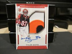 National Treasures Rookie On Card Autograph Jersey Bengals Tyler Boyd 48/99 2016