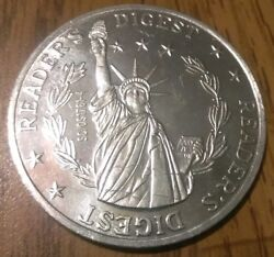 Vintage Lady Liberty Readers Digest Aluminum Rare Lucky Sweepstake Coin Token