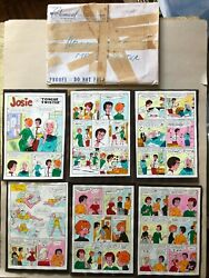 Archieand039s Pals And039n Gals 23 Color Guide Dec And03963 53 Pgs And Orig Env. 1st Josie