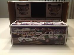 2011 Hess Truck And Race Car Mib Fresh From A Factory Sealed Case