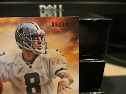 National Treasures Hall Of Fame 2006 Prime Jersey Cowboys Troy Aikman 08/10 2013