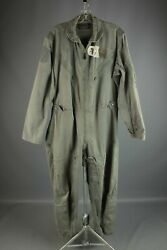 Vtg Menand039s 1963 K-2b Usaf Air Force Flying Suit Medium Reg 60s Vietnam War 6783