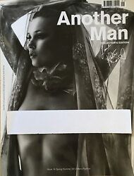 Another Man Magazine 2012 Kate Moss By Nick Knight Collector's Edition Cover New