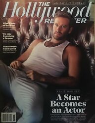 The Hollywood Reporter Armie Hammer Spike Lee Michael Bloomberg Angelina Jolie