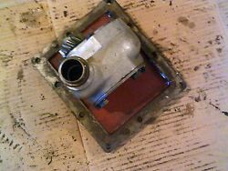 Farmall 504 Utility Tractor Ihc Cessna Good Working Hydraulic Pump And Cover