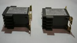 New Lot Of 2 Eaton Cutler Hammer 120v 50-400 Hz D40rbh Reed Relay
