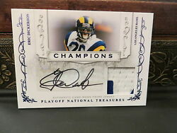 National Treasures Champions Autograph Prime Jersey Eric Dickerson 11/25 2008