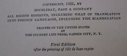 Furniture Masterpieces Of Duncan Phyfe New York Rare First Edition Circa 1922