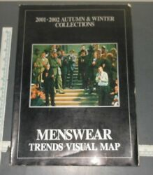 2001-02 Autumn/winter Collections Menswear Visual Trends Map Magazine
