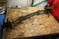 Austin Seven Front Suspension Cross Member Assembly With Spindles