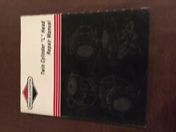 Briggs And Stratton Twin Cylinder L Head Gas Engine Repair Manual