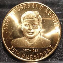 1971 John Fitzgerald Kennedy Center For The Performing Arts Coin Medal Token K.