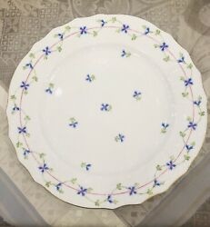 Herend Blue Garland Service Plate/discontinued