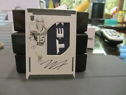 National Treasures Printing Plate Autograph Jersey Texans Will Fuller V 1/1 2016