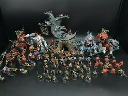 Warhammer Gloomspite Gitz Army + Loonshrine Made To Order Pro Painted