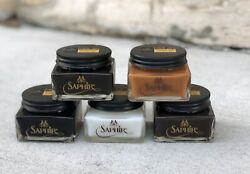 Saphir Medaille D'or Pommadier Cream Polish - Assorted Colors (US Shipping)