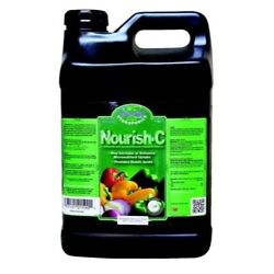 Nourish-C Fertilizer 2.5 gallon Hydroponics Nutrients Booster Humate Humic Acid