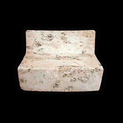 A large Chinese Jade pillow x372