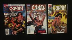Complete Full Set Of Conan The Barbarian The Usurper 1 2 3