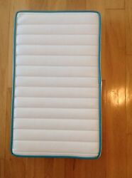 Boat Cushion Vinyl Bench Seat Teal Piping W/ss Hardware 20x12x2
