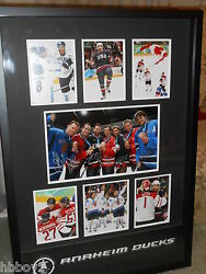 Anaheim Mighty Ducks 2010 Vancouver Olympics Player Signed Picture
