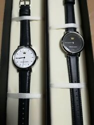 D23 Expo Japan 2018 Kingdom Hearts Pair Watch 30 Limited Black White F/s Japan