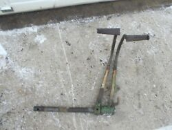John Deere 420 W Jd Tractor Brake Pedal Pedals And Mounting Pivot Shaft