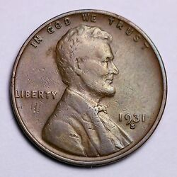 1931-s Lincoln Wheat Cent Penny Lowest Prices On The Bay Free Shipping