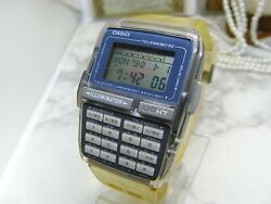Casio Disney Store Limited Mickey Mouse Data Bank Wristwatch Dbc-63 Rare Used