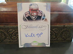 Panini Flawless Autograph Patriots Kenbrell Thompkins 1/1 One Of One  2014