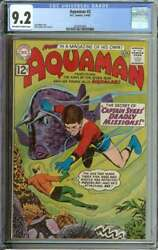Aquaman 2 Cgc 9.2 Ow/wh Pages // Silver Age Nick Cardy + Near Top Of Census