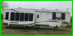 2012 Forest River Sierra 356RL Fifth Wheel 42' Sleeps 4 WD New Tires Hitch